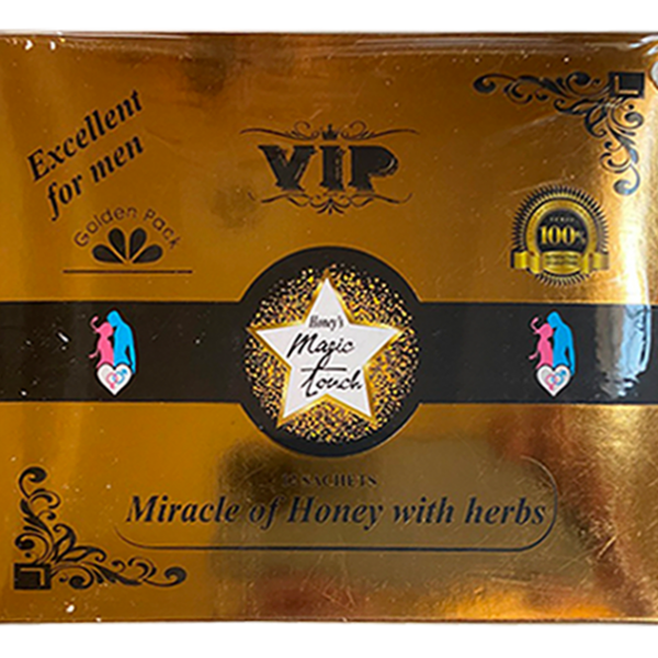 MIRACLE OF HONEY WITH HERBS – GOLDEN PACK