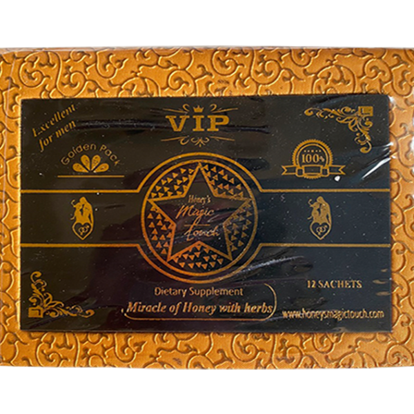 VIP MIRACLE OF HONEY WITH HERBS -LEATHER PACK