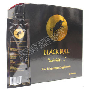 Black Bull Don't Quit Royal Honey - Made in USA (12 Pouches - 22 G)